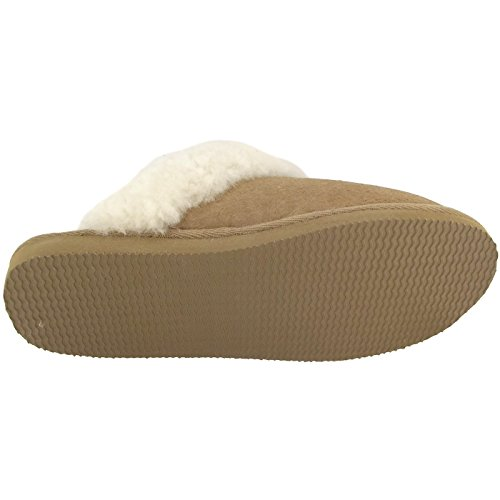 Slippers Women's Back Brun Jessica Open Camel Shepherd IPwx4q74Z
