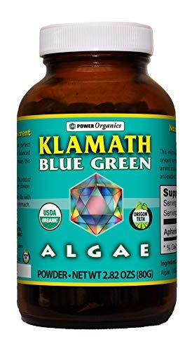 Klamath Blue Green - Klamath Blue Green Algae 80 Gram Powder by Power Organics