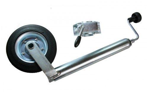 Stü tzrad mit Halter 48 mm, Bugrad Anhängerbauteile-Discount 331