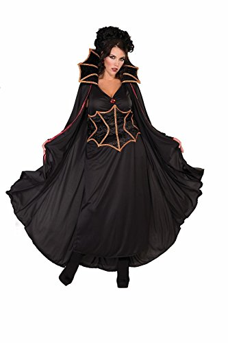 Forum Novelties Women's Vampiress Costume, Black, Plus Size