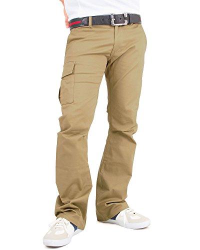 取るに足らないユーモア品揃え(イナセ) INASE ゴルフパンツ メンズ ストレッチ ブーツカット golf パンツ