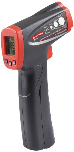 Amprobe IR-710 Infrared Thermometer with 10:1 Spot Ratio