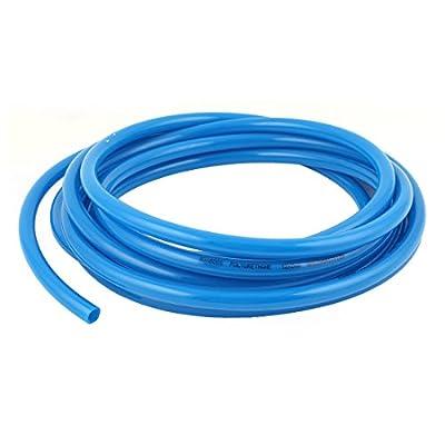 12mm OD x 8mm ID PU Pneumatic Air Tubing Pipe Hose 6M 20ft Blue
