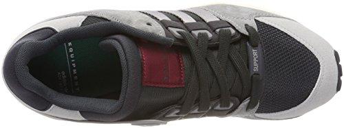 adidas EQT Support RF, Scarpe da Ginnastica Basse Uomo Grigio (Carbon/Carbon/Grey Two Cq2420)