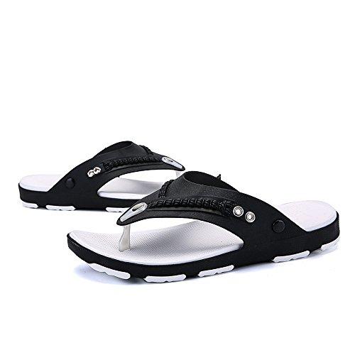 Sandalias Vertvie Sandalias Flip Flop Sandalias Antideslizantes Zapatillas Negras