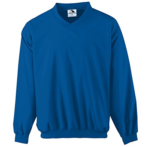 Youth Micro Poly Pant - Augusta Sportswear Micro Poly Windshirt/Lined, Large, Royal
