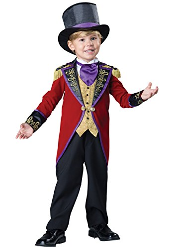 Fun World InCharacter Costumes Boy's Ringmaster Circus Costume, Red/Black, 2T ()