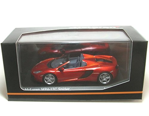 Minichamps 1:43 Scale 2011 McLaren MP4-12C Spider (Metallic for sale  Delivered anywhere in USA
