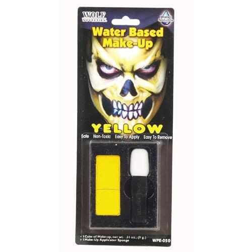 Yellow Water Based Make-Up -
