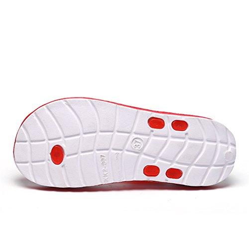 Pour Torisky Jardin Homme Chaussures 1 Tongs Pantoufles Chaussons Plage Femme Rouge De Sandales x8w61qH8C
