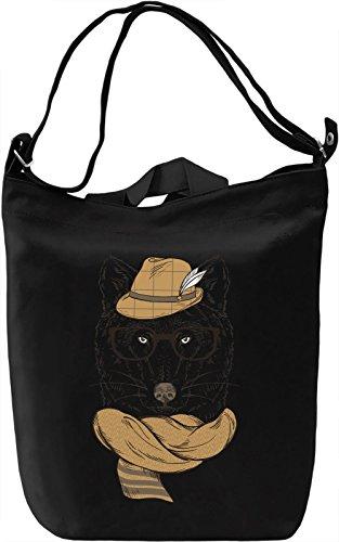 Classy wolf Borsa Giornaliera Canvas Canvas Day Bag| 100% Premium Cotton Canvas| DTG Printing|