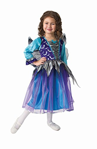 [Simply By Design Halloween Bat Girl Princess Costume Ages 4-6 Years] (Toddler Vampire Halloween Costumes)