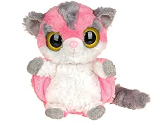 YooHoo & Friends - Peluche Sugar Glider, 13 cm, color rosa y blanco (Aurora World 12247)