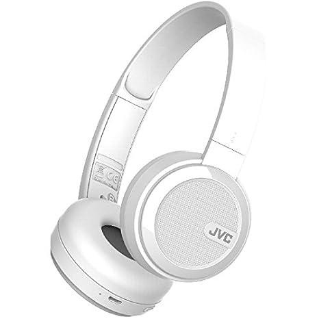 JVC HA-S40BT-W Auricular con micrófono - Auriculares con micrófono: Amazon.es: Informática