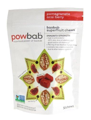 Baobab Superfruit Chew 30 Chews (Pack of 6)