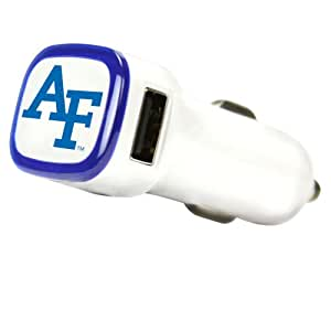 NCAA Air Force Falcons USB Car Charger, White