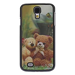 hao 3D Effect Bear Pattern Durable Hard Case for Samsung Galaxy S4 I9500