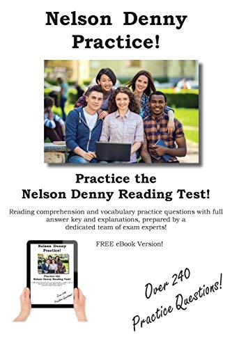 Nelson Denny Practice!: Nelson Denny Practice Test Questions