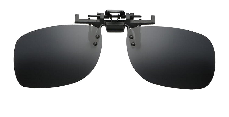 JYR Unisex Fashion Retro Nose Clip UV Resistance Polarized Metal Mini Sunglasses - Black XRRzWrhE