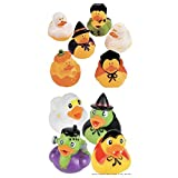 "10 Spooky HALLOWEEN Rubber DUCKS/Duckies/PARTY FAVORS/Undead/HALLOWEEN Party Decor DECORATIONS TOY 2"" FAVORS Spooky"