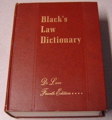 Download Blacks Law Dictionary De Luxe Fourth Edition With