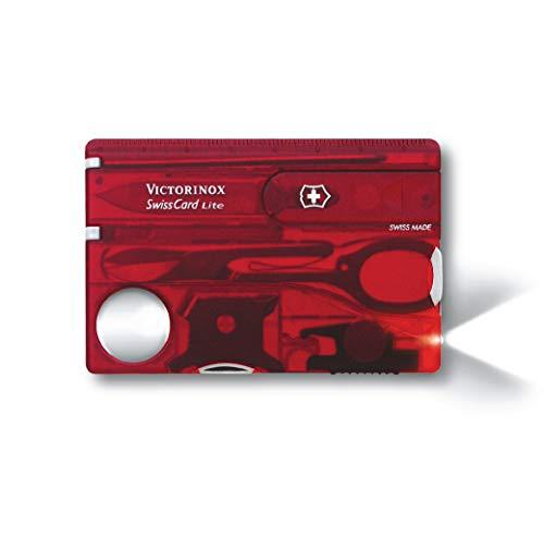 Victorinox SwissCard, Lite Rubin Transparent