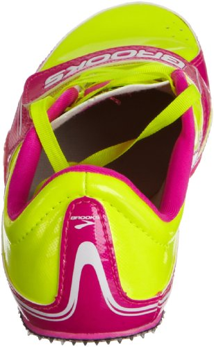 Brooks Dames Pr-sprint 11.38 Track Spikes Roze Glow Nachtleven Antraciet