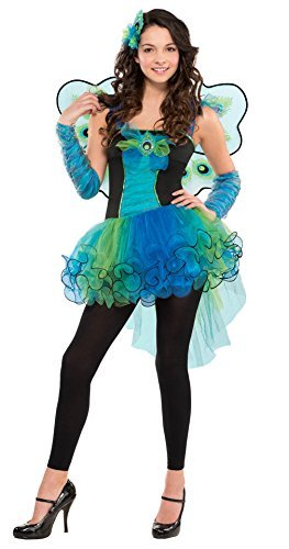 Amscan Juniors Peacock Diva Costume Size Small (3-5)