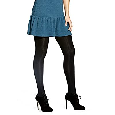 No Nonsense Women's Super-Opaque Control-Top Tights 3-Pack at Women's Clothing store