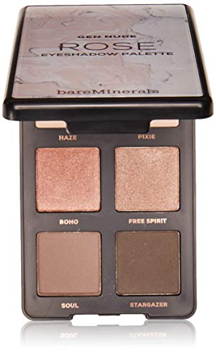 Bare Escentuals Gen Nude Eyeshadow Palette for Women, Rose By, 0.18 Oz