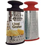 EuroHome 2267705 Oval Grater, Stainless Steel