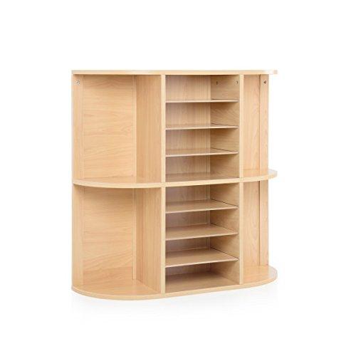 Display and Storage Center, School Supply Organizer Shelves, Kids Furniture