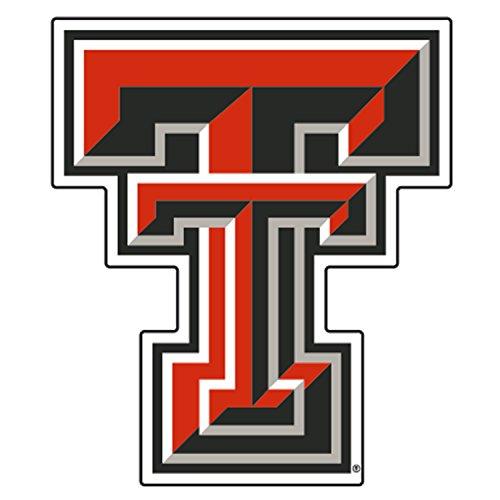 (Texas Tech Decal REF TEXAS TECH TT DECAL 4