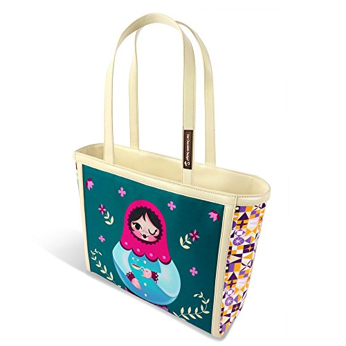 Hot Chocolate Design Matryoshka Women's Tote -