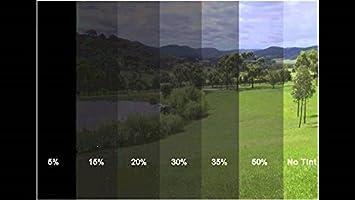 A1 300 x 76 cm 50% lb Lunas Protector de Pantalla Tintado Lunas de privacidad Pantalla Protector Solar