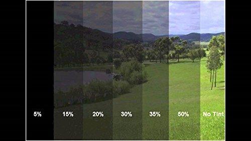 300x50cm 20/% S.D.B Super Tiefschwarz T/önungsfolie Sonnenschutzfolie Scheibefolie Fensterfolie Sichtschutzfolie Scheibent/önung