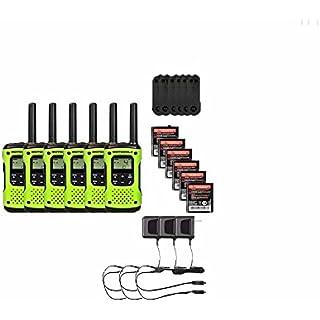 Discount Motorola FRS/GMRS T600 Two-Way Radios / Walkie Talkies - Rechargeable & Fully Waterproof 6 PACK