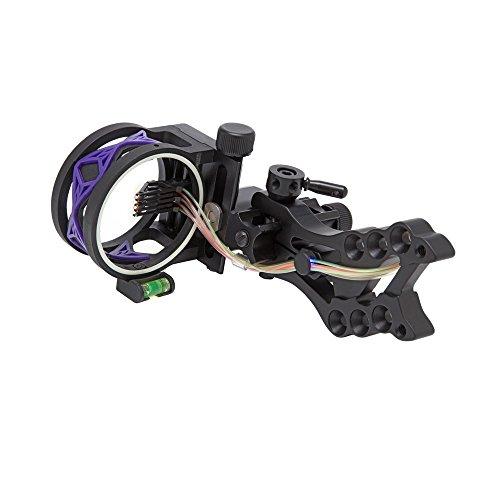 30-06 Outdoors 5 Pin Shocker Bow Sight, Purple - 3 Pin 019 Sight