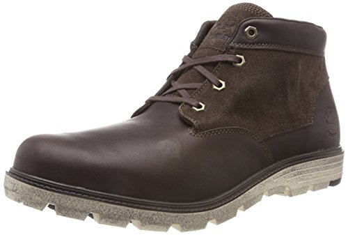 Timberland Walden Park, Stivali Classici Uomo Marrone (Mulch Forty With Suede A66)