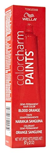 Wella Color Charm Paints Tube Blood Orange 2 Ounce (59ml) (2 Pack)