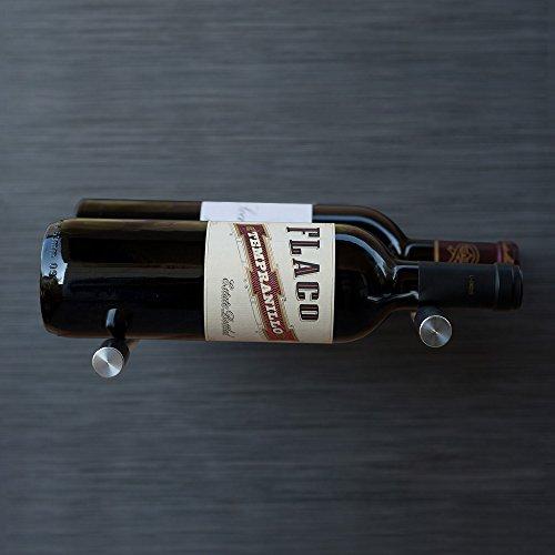Vino Series Vino Pin Double Bottle - Mounting Surface: Masonry