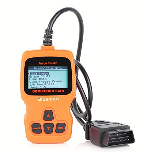 OBD MATE OBDII Car Vehicle Code Reader Auto Diagnostic Scan Tool for 2000 or later US, European and Asian OBD2 Protocol Vehicle (Orange) (Car Code Reader)
