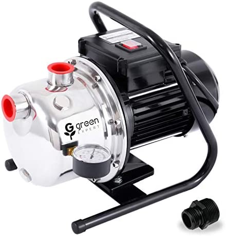 Pump 12V High Pressure Water Pump Directly Connected Centrifugal Pump Water Pump Well Sealed Direct-coupled Pipeline Pump Industry Household