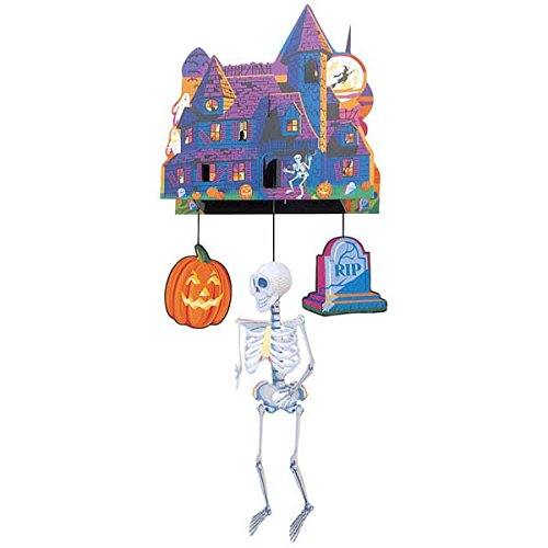 Amscan Halloween 3-D Mobile Haunted Castle
