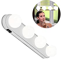 Makeup Mirror Light,JHS-TECH Mirror Headlights Suction Cup Makeup Lamp (Second Generation)