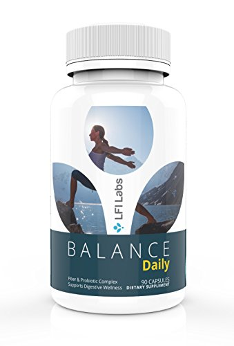 Balance Daily Fiber & Probiotic Detox — Your Daily Pure Maintenance Cleanse, with Fiber and Probiotic to Eliminate Toxins and Lose Weight. Maximum Strength and Doctor Recommended — 90 ()