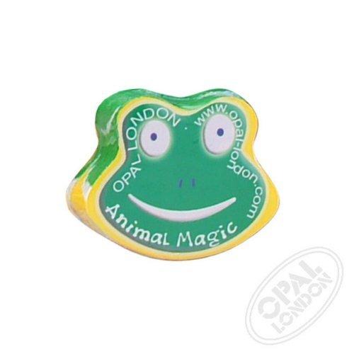 Compressed Frog (Frog Compressed Flannel by Opal)