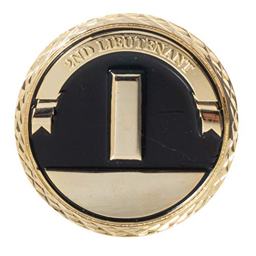 (United States Army Second Lieutenant Commissioned Officer Rank Challenge Coin)