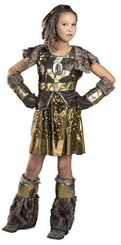 Princess Paradise Hildagaard Warrior Costume, Tween Small -