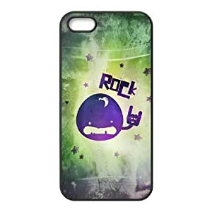 Rock & Roll Pattern Laser Technology Cases Diy For SamSung Galaxy S5 Mini Case Cover (5.5 Inch Screen)